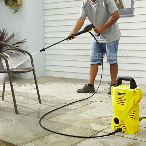 Một số cách khắc phục lỗi máy rửa xe không lên nước