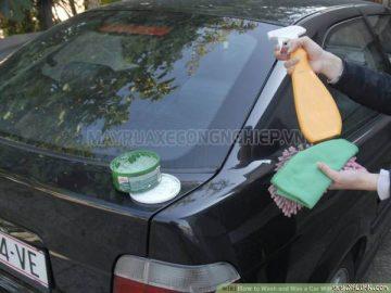 Rửa xe không cần nước