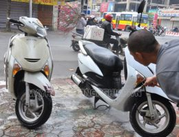 Lưu ý khi rửa xe tay ga người dùng không nên bỏ qua