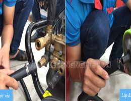 Hướng dẫn sử dụng máy rửa xe cao áp an toàn và hiệu quả