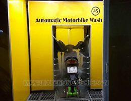 Điểm danh 3 công nghệ rửa xe máy siêu sạch Hà Nội