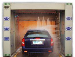 Hệ thống máy rửa xe tự động có quy trình làm việc như nào?