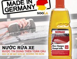 Nước rửa xe Sonax bán ở đâu?