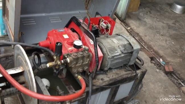 Bảo quản máy rửa xe mini cũ