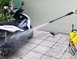 Bộ dụng cụ rửa xe máy tại nhà cần có những gì