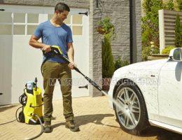 Phương pháp điều chỉnh áp lực nước máy rửa xe cao áp
