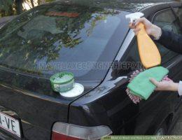Rửa xe oto không cần nước, liệu có nên?