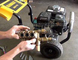 Nguyên nhân và cách xử lý khi máy rửa xe bị yếu