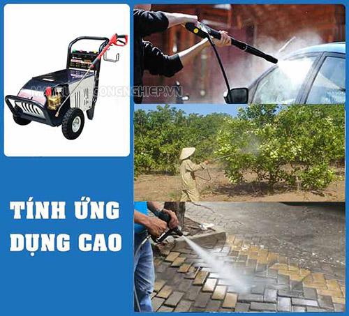 Ứng dụng của máy rửa xe cao áp Palada 20M32 – 5.5T4