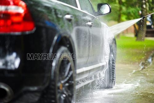Do nguồn nước rửa xe không sạch