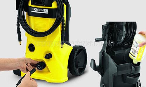 Cần nắm rõ quy trình sử dụng máy rửa xe để đảm bảo hiệu quả công việc cũng như tuổi thọ của máy