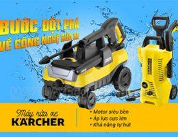 Đánh giá chi tiết thương hiệu máy rửa xe Karcher