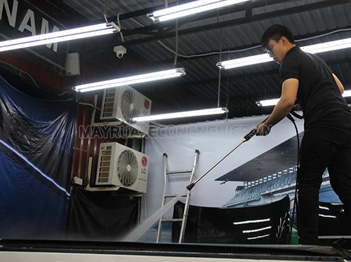 Máy rửa xe Lutian có nhiều ưu điểm nổi bật
