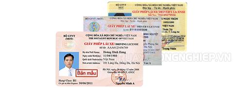 giấy phép lái xe là một trong những giấy tờ xe quan trọng