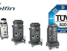 Top 3 model máy hút bụi công nghiệp Delfin được yêu thích nhất hiện nay