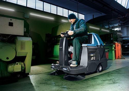 máy quét rác công nghiệp cực kỳ phù hợp với các xưởng sản xuất