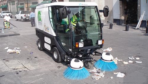 Thiết bị quét rác công nghiệp thu gom, hút rác mạnh mẽ