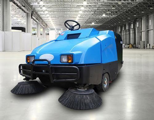 Kích thước và trọng lượng xe quét rác công nghiệp lớn